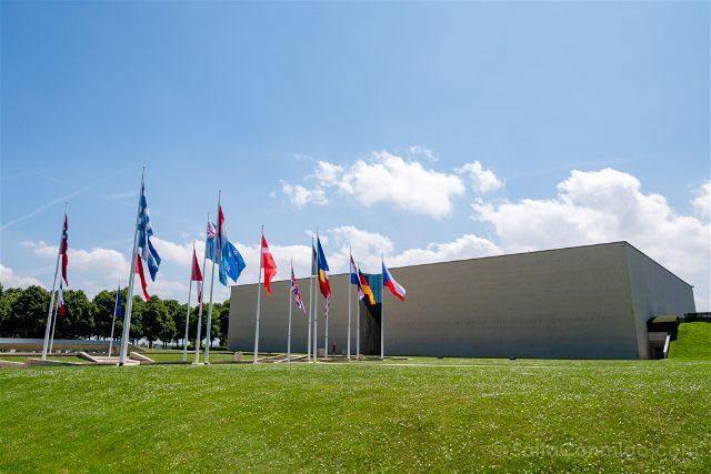 Francia Desembarco de Normandia Memorial Caen Exterior