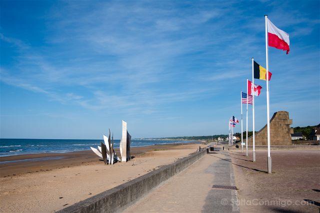 Francia Desembarco de Normandia Omaha Beach Memorial