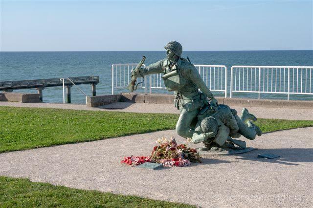 Francia Desembarco de Normandia Omaha Beach Oeste