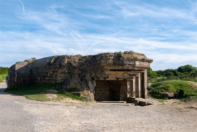 Francia Desembarco de Normandia Pointe du Hoc Bunker