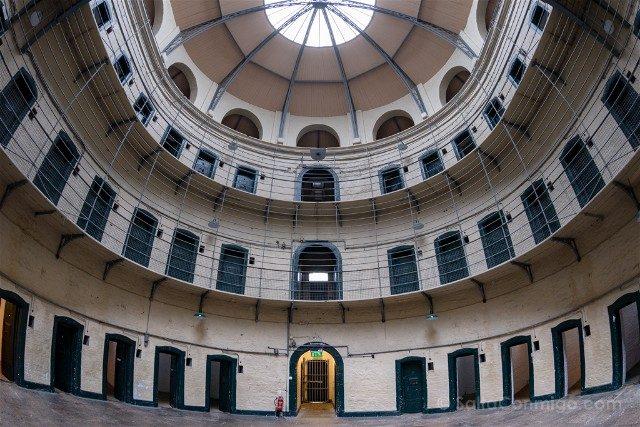 Irlanda Dublin Kilmainham Gaol Ala Victoriana Celdas Ojo Pez