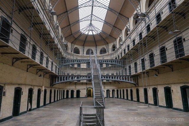 Irlanda Dublin Kilmainham Gaol Ala Victoriana Luz
