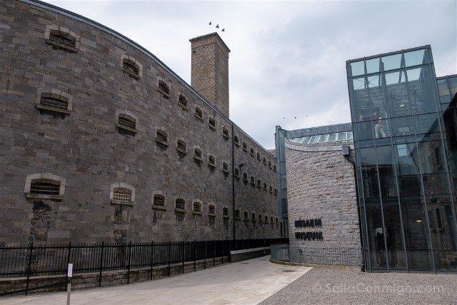 Irlanda Dublin Kilmainham Gaol Entrada