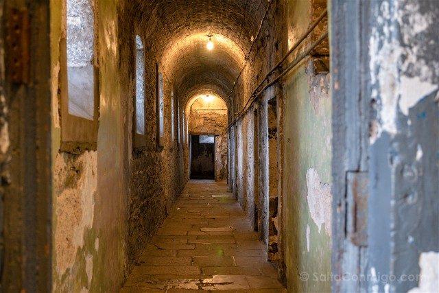 Irlanda Dublin Kilmainham Gaol Pasillo