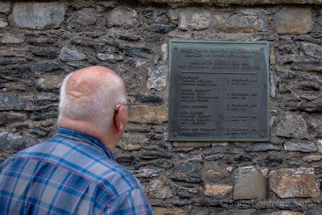 Irlanda Dublin Kilmainham Gaol Patio Placa Alzamiento