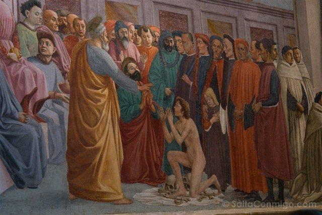 Italia Iglesias Florencia Cappella Brancacci Frescos