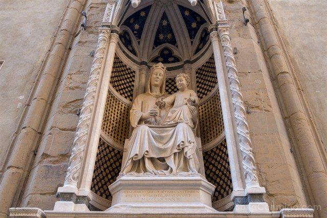 Italia Iglesias Florencia Orsanmichele Exterior