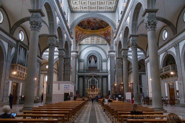 Italia Iglesias Florencia San Lorenzo Interior