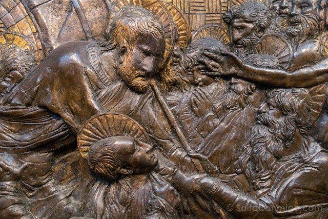 Italia Iglesias Florencia San Lorenzo Pulpitos Donatello