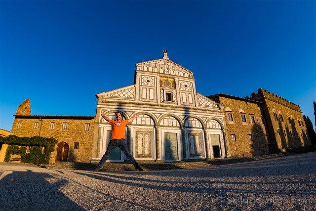 Italia Iglesias Florencia San Miniato Al Monte