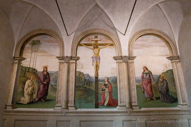 Italia Iglesias Florencia Santa María Magdalena de Pazzi Perugino