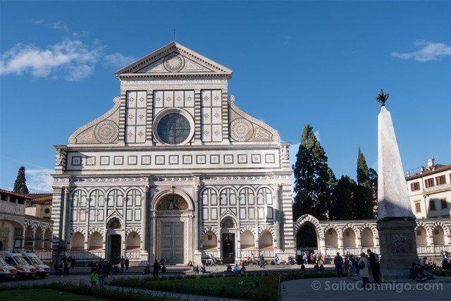 Italia Iglesias Florencia Santa Maria Novella Fachada