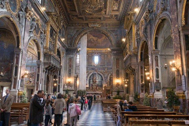 Italia Iglesias Florencia Santissima Annunziata Interior