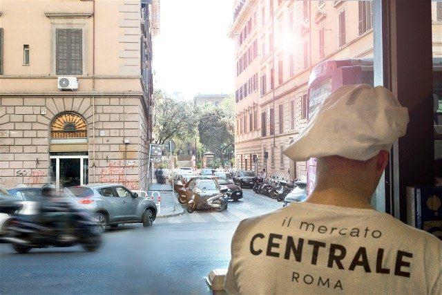 Mercato Centrale Roma MCR Location Tshirt