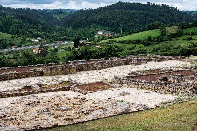 Asturias Gijon Villa Romana Veranes Ruinas