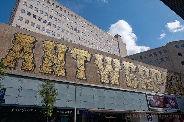 Belgica Flandes Amberes Mural Barroco Yvon Tordoir