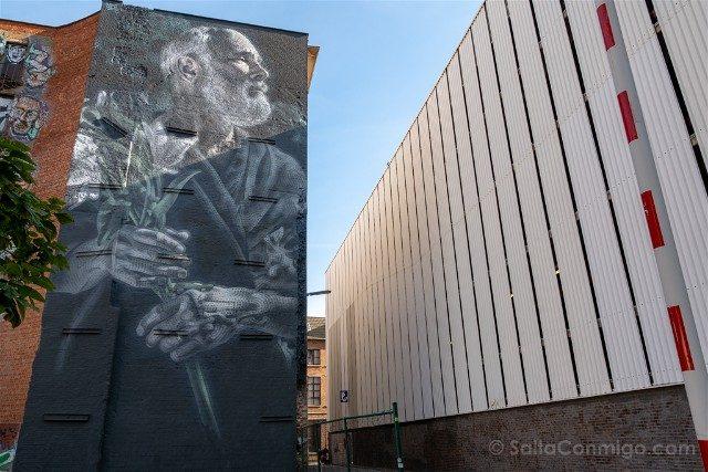 Belgica Flandes Amberes Mural Barroco el Mac