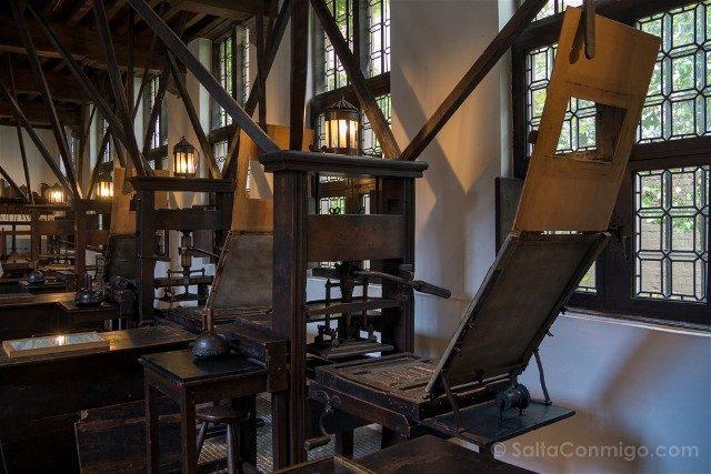 Belgica Flandes Amberes Plantin-Moretus Imprentas