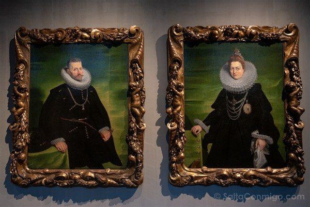 Belgica Flandes Amberes Rockoxhuis Retratos Rubens