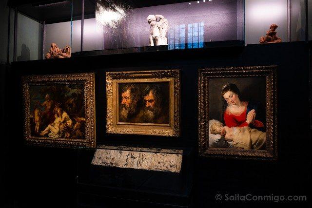 Belgica Flandes Amberes Rockoxhuis Virgen Nino Rubens
