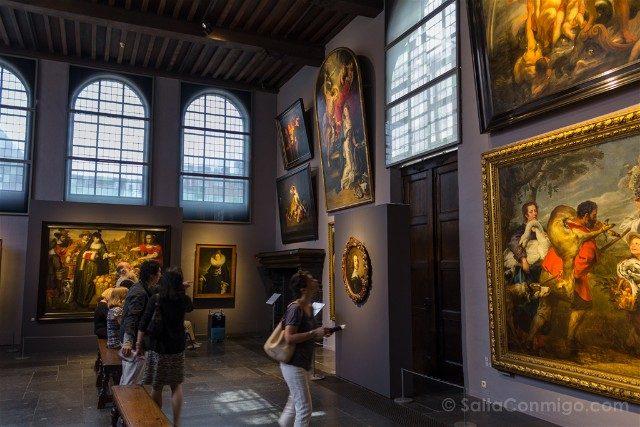 Belgica Flandes Amberes Rubenshuis Taller