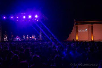 Festivales-Costa Brava Empuries Conciertos Forum Roma Escenario Noche