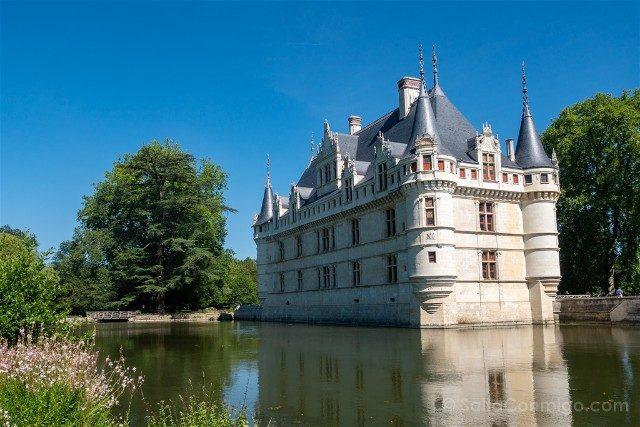 Francia Castillos Loira Azay-le-Rideau Exterior