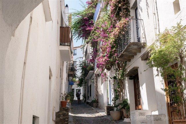 Girona Costa Brava Cadaques Calles