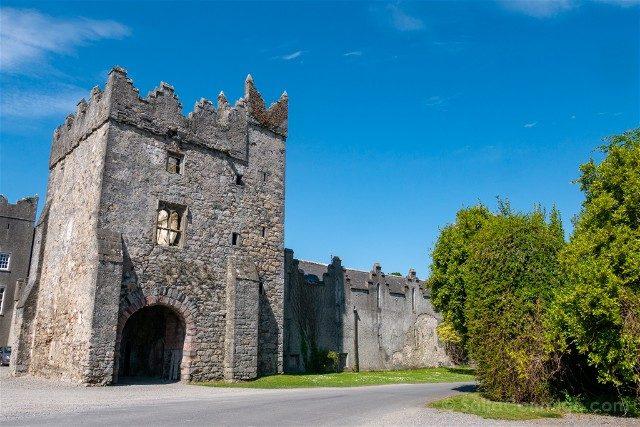 Irlanda Dublin Howth Castillo