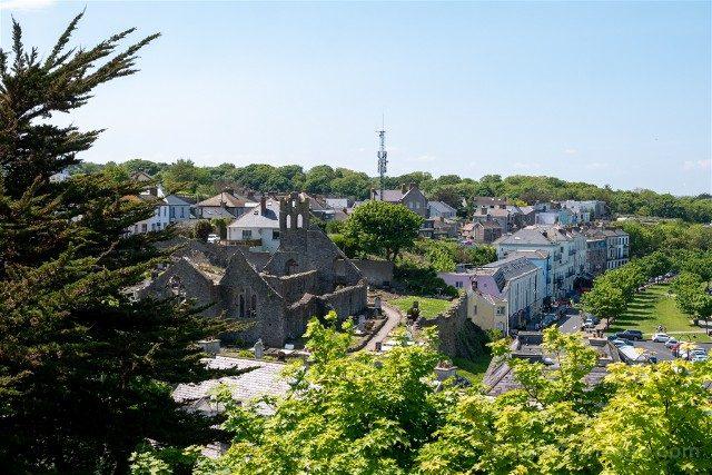 Irlanda Dublin Howth Ruinas Santa Maria