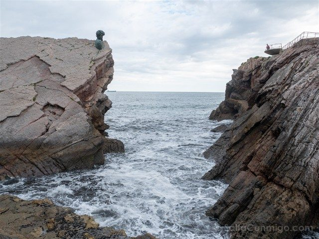 Aviles Playa Salinas Philippe Cousteau Museo Anclas