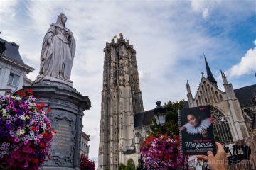 Belgica Flandes Malinas Margarita Austria