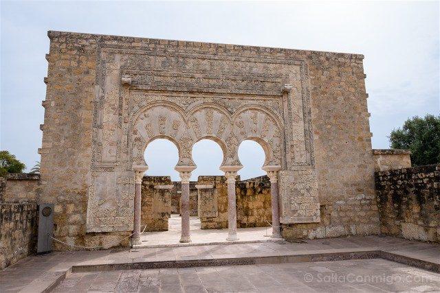 Cordoba Medina Azahara Casa Ya'Far Portico