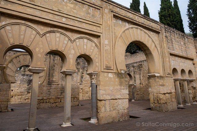 Cordoba Medina Azahara Edificio Basilical Interior