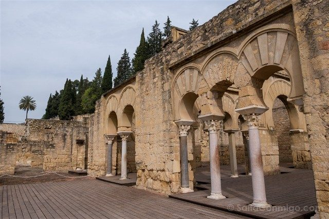 Cordoba Medina Azahara Edificio Basilical Nave Transversal