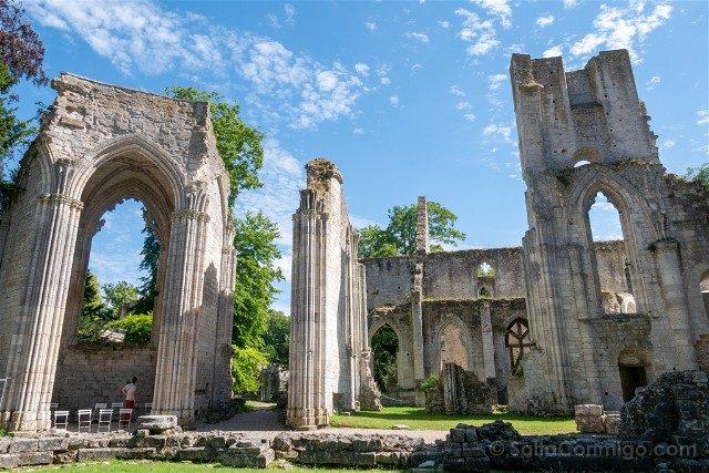 Francia Normandia Abadia Jumieges