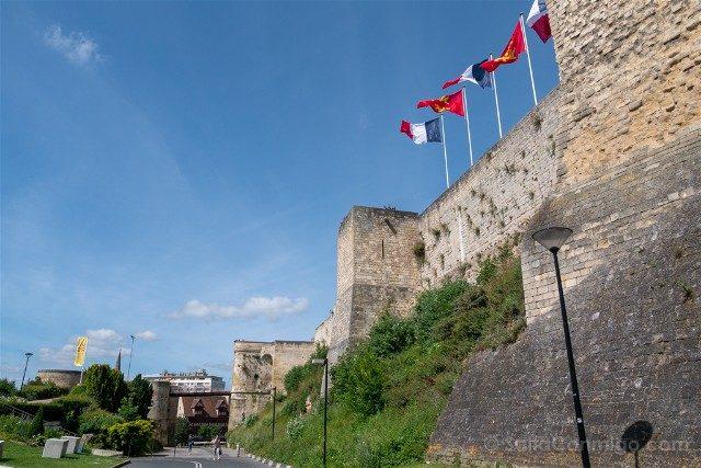 Francia Normandia Caen Castillo