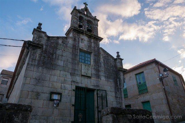 Galicia Rias Baixas Combarro Iglesia San Roque