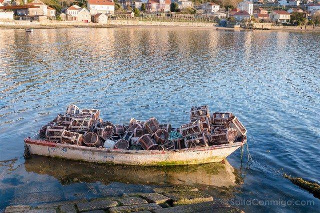 Galicia Rias Baixas Combarro Marisqueiros