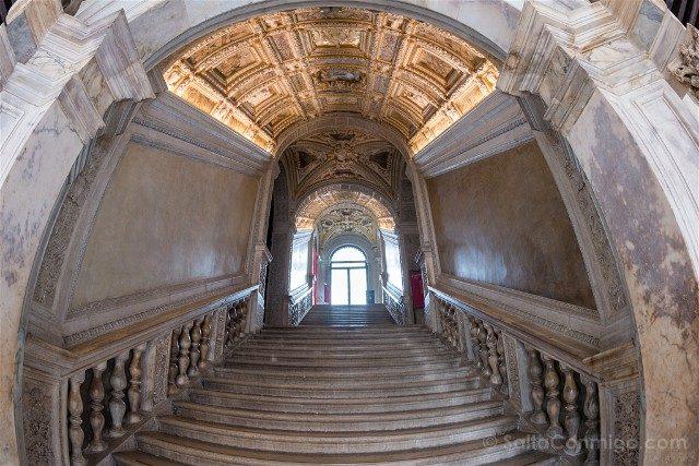 Italia Palacio Ducal Venecia Escalera Interior