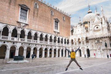 Italia Palacio Ducal Venecia Patio Salto