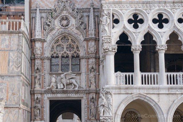 Italia Palacio Ducal Venecia Porta Carta