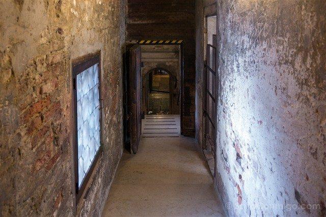 Italia Palacio Ducal Venecia Puente Suspiros Interior