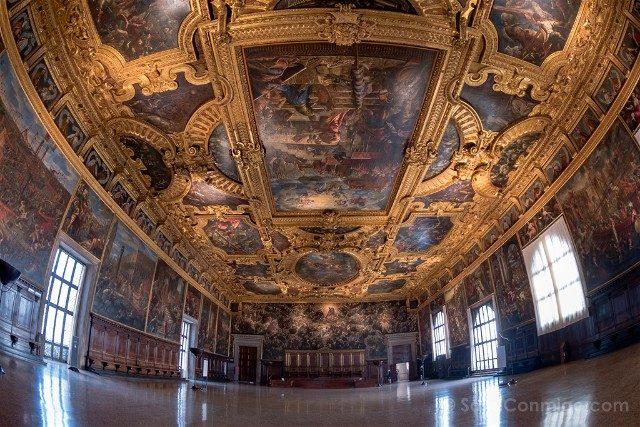 Italia Palacio Ducal Venecia Sala Maggior Consiglio