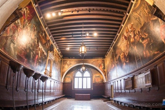 Italia Palacio Ducal Venecia Sala Quarantia Civil Vecchia