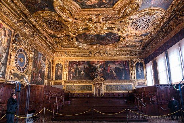 Italia Palacio Ducal Venecia Sala Senato
