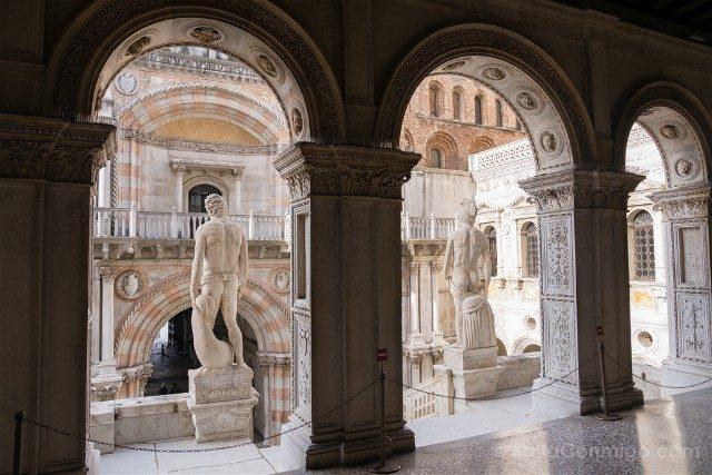 Italia Palacio Ducal Venecia Scala Gigante Escalera Gigantes Porta Carta