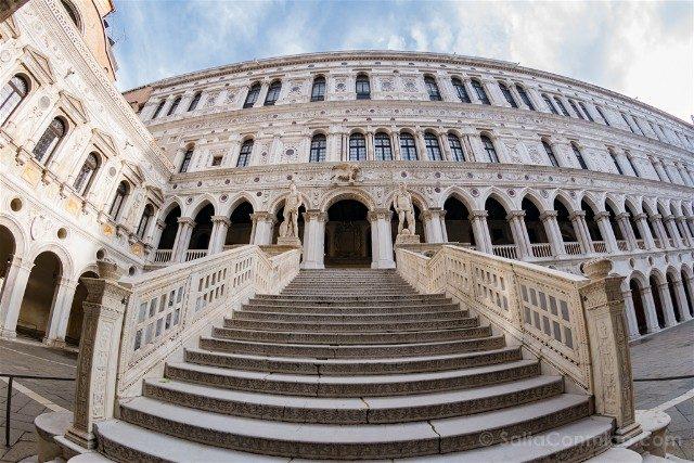 Italia Palacio Ducal Venecia Scala Gigante Escalera Gigantes