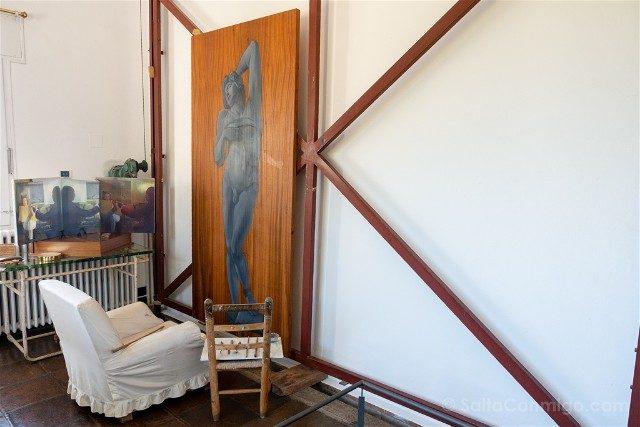 Portlligat Casa Museo Dali Cadaques Estudio Caballete