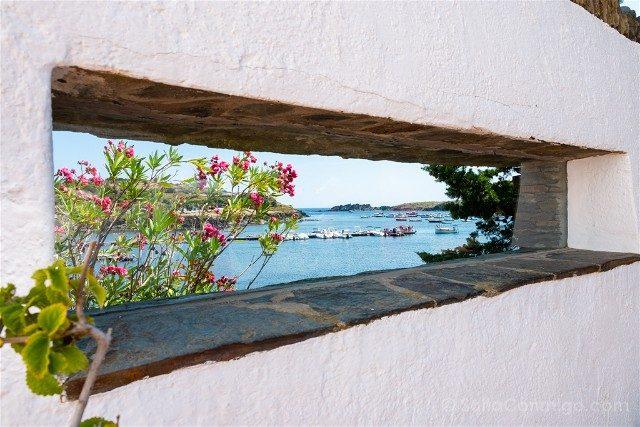 Portlligat Casa Museo Dali Cadaques Terraza Vista